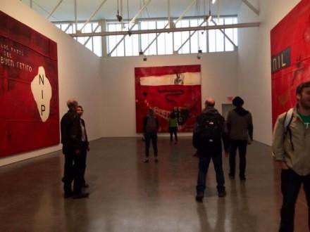Julian Schnabel at Gagosian (Installation View), via Art Observed