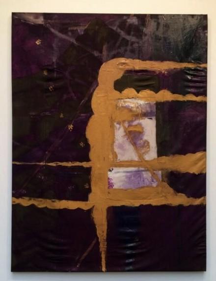 Julian Schnabel at Gagosian, via Art Observed