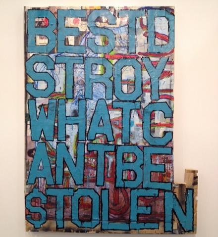Justin Lieberman at Martos Gallery, via Art Observed