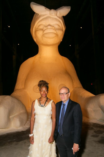 Kara Walker and Tom Finklepearl, Photography by David Prutting, Courtesy of BFA