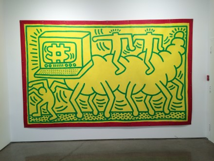 Keith Haring Untitled (1985), via Art Observed