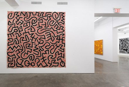Keith Haring (Installation view), courtesy Gladstone Gallery