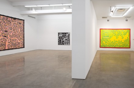 Keith Haring (Installation view), all images courtesy Gladstone Gallery