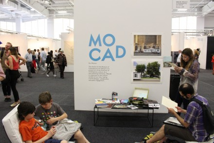MOCAD project space, via Art Observed