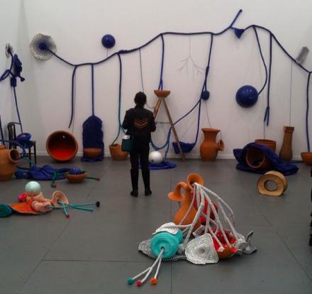 Maria Nepomuceno at A Gentil Carioca, via Art Observed