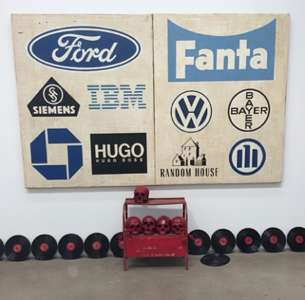 Mark Flood, Available Nasdaq Symbol (Installation View), via Art Observed