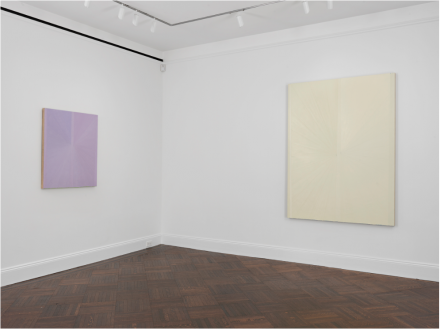 Mark Grotjahn, Butterfly Paintings (Installation View)