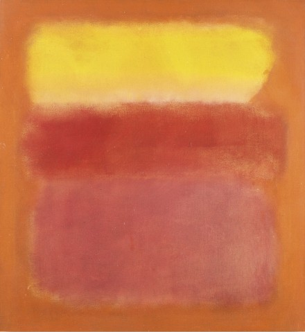 Mark Rothko, Untitled (1950), via Sotheby's