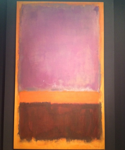 Mark Rothko, Untitled (1952), via Art Observed