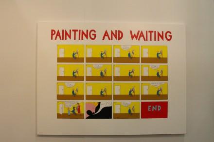 Marko Maetamm, Painting and Waiting at Temnikova & Kasela Gallery