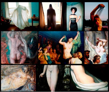 Nan Goldin, Veils (2011-14), all images courtesy Gagosian Gallery