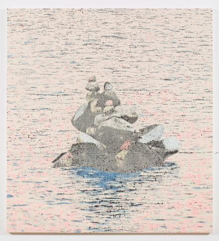 Nate Lowman, Wisonsin Cairn (Lake Flannery), via Maccarone