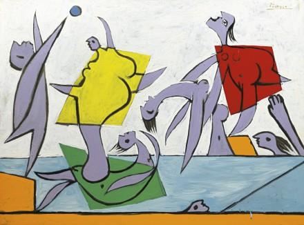 Pablo Picasso, Le Sauvetage (1932), Via Sotheby's