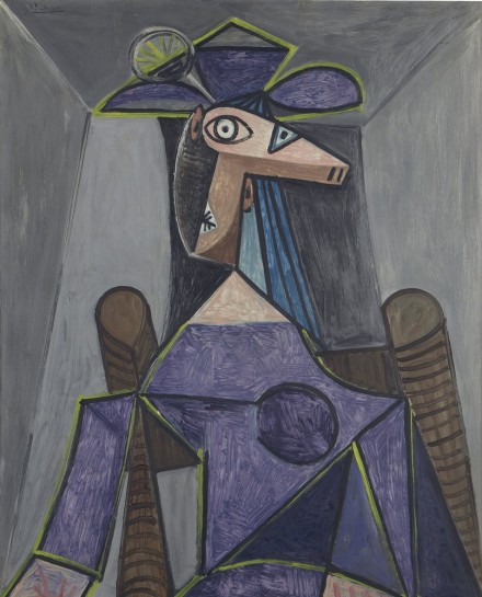 Pablo Picasso, Portrait de femme (Dora Maar) (1942), via Christie's