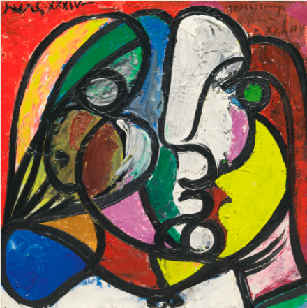 Pablo Picasso, Tête De Marie-thérèse (1932-1934), via Sotheby's