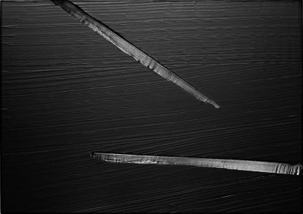 Pierre Soulages, Peinture 157 X 222 Cm, 6 Avril 2013, Via Dominique Lévy