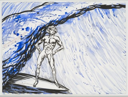 Raymond Pettibon, No Title (And as a) (1998) via Venus Over Manhattan