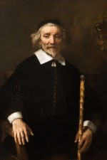 Rembrandt, Portrait of Dirck van Os, via WSJ