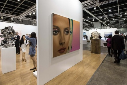 Richard Phillips at Gagosian