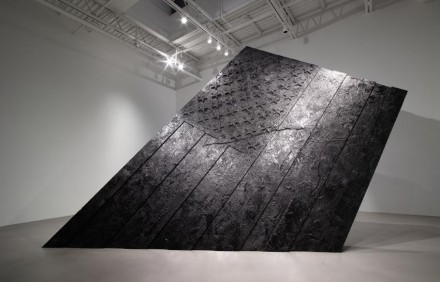 Robert Longo, Untitled (The Pequod) (2014) all images courtesy Petzel Gallery and Metro Pictures