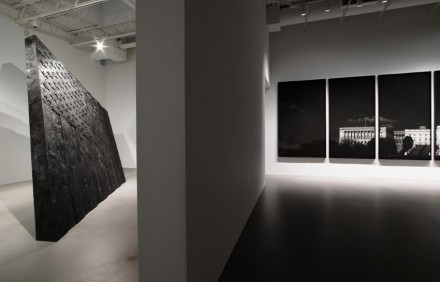 Robert Longo, Strike the Sun, Petzel Gallery (Installation View)
