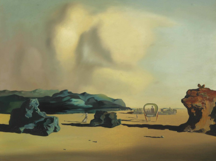 Salvador Dali, Moment de Transition (1934), via Christie's
