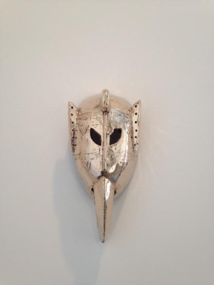 Sherrie Levine, Bird Mask (2014) via Osman Can Yerebakan