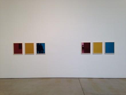 Sherrie Levine, Red Yellow Blue Mirrors, (2014) via Osman Can Yerebakan
