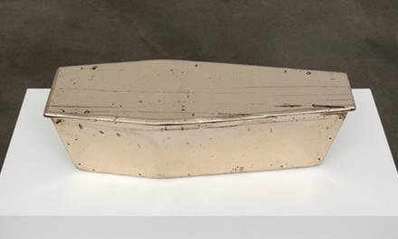 Sherrie Levine, Tight Coffin, (2013) via Paula Cooper