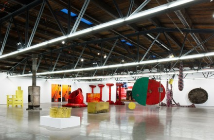 Sterling Ruby, SUNRISE SUNSET (Installation View), via Hauser and Wirth