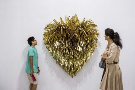 Subodh Gupta at Hauser and Wirth