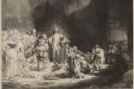 The Hundred Guilder Print, via Art Daily