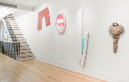 The Shaped Canvas Revisited (Installation View), via Luxembourg and Dayan