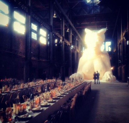 The Table Before Dinner, via Art Observed