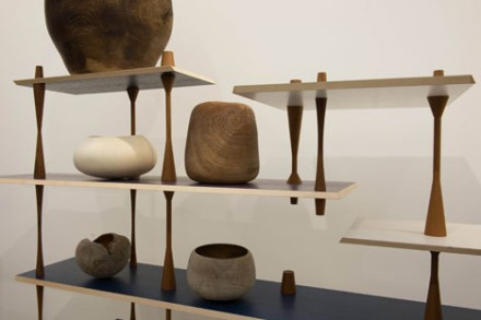 Turnaround Shelves by Martino Gamper and objects selected by Ernst Gamperl. Courtesy of Serpentine Galleries