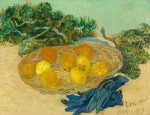 Van Gogh, Still Life of Oranges and Lemons with Blue Gloves