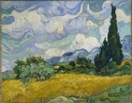 Vincent Van Gogh, Cypress, Sky and Country