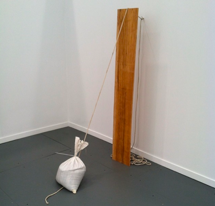 Virginia Overton at Mitchell-Innes and Nash, via Art Observed