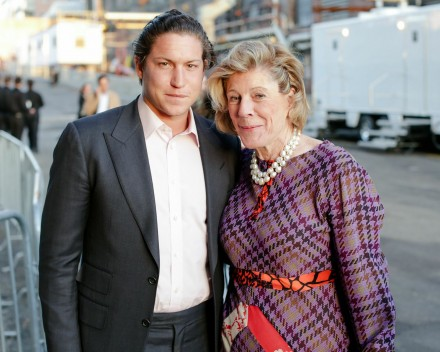 Vito Schnabel and Agnes Gund, Photography by David Prutting, Courtesy of BFA