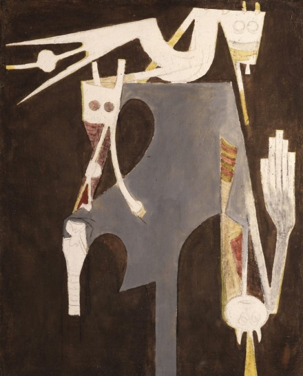 Wilfredo Lam at Galerie Gmurzynska, via Art Basel Hong Kong