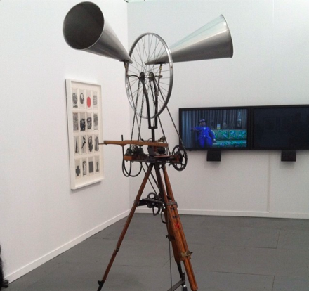 William Kentridge at Goodman Gallery, via Art Observed