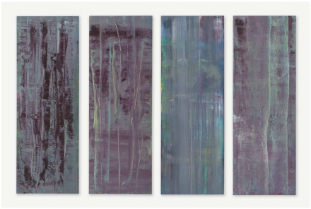 Gerhard Richter, Abstrakte Bilder, via Christie's