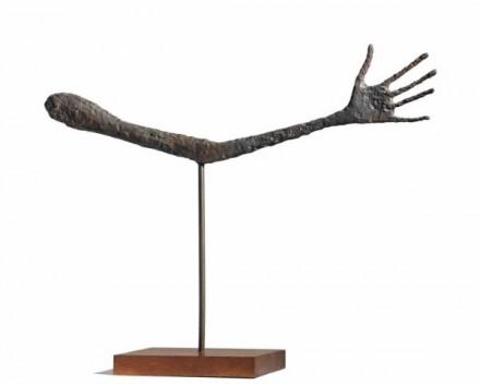 Alberto Giacometti, Le Main (1947) via Christie's