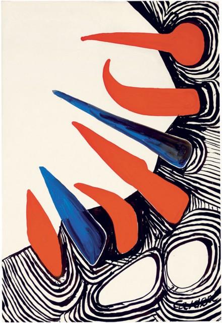 Alexander Calder, Jungle (1971)