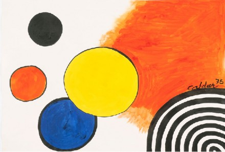 Alexander Calder, Occident (1975) all images courtesy Gagosian Gallery