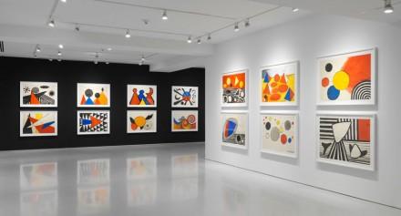 Alexander Calder, Gouaches (Installation View)