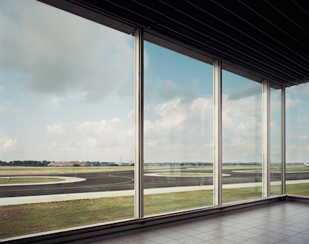 Andreas Gursky, Schiphol (1994), Inkjet-Print, framed behind glass, 19 7/8 x 24 1/8 x 1 1/2 inches (framed), Copyright: Andreas Gursky / DACS, 2014 Courtesy Sprüth Magers Berlin London