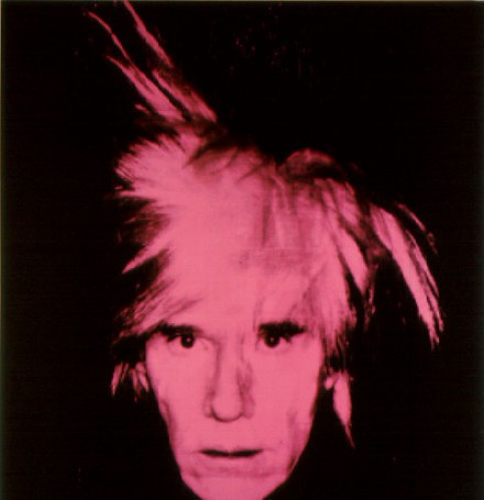 Andy Warhol, Self-Portrait (1986), via Artfix Daily