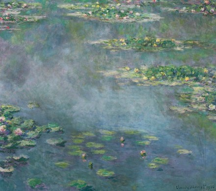 ClaudeMonet, Nympheas (1906), via Sotheby's