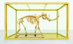 Damien Hirst's Gold Mammoth, via New York Times